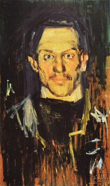 Bức tranh đẹp nổi tiếng thế giới chân dung Picasso