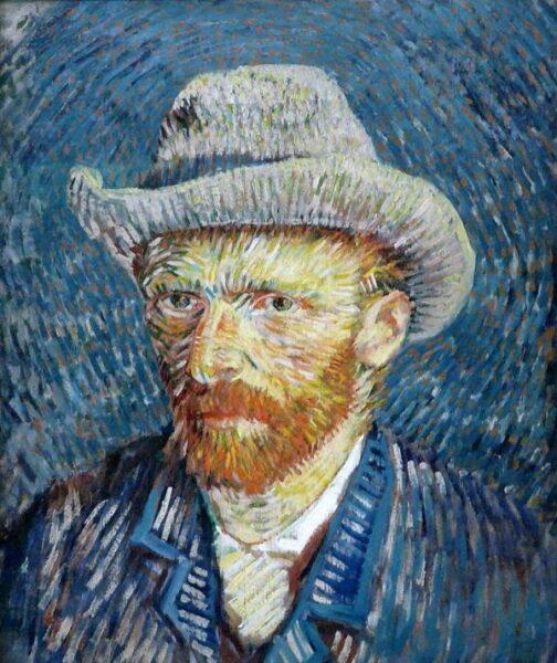 Bức tranh đẹp nổi tiếng thế giới chân dung Van Gogh