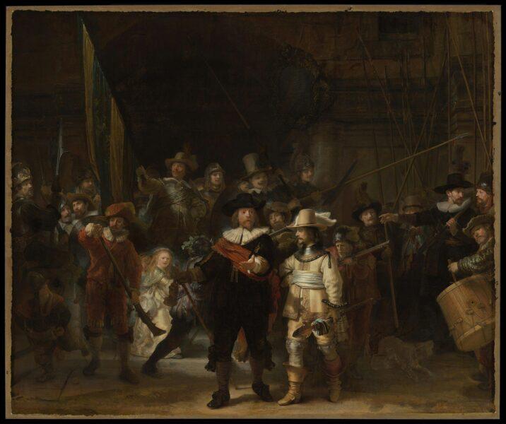 Bức tranh đẹp nổi tiếng thế giới nói về ca gác đêm