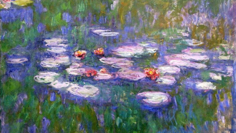 Bức tranh đẹp nổi tiếng thế giới về phong cảnh đầm hoa Súng Việt Nam