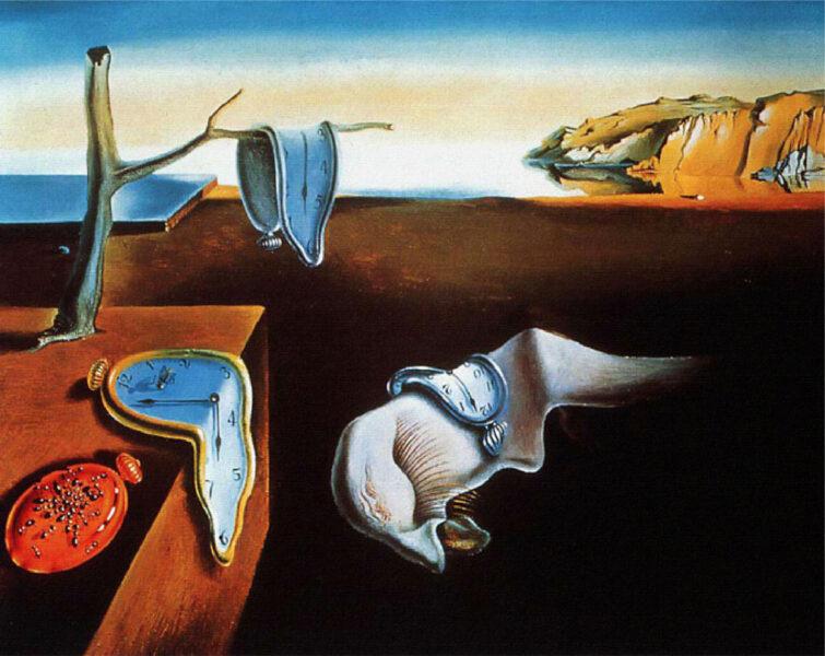 Bức tranh sự kiên định của kí ức