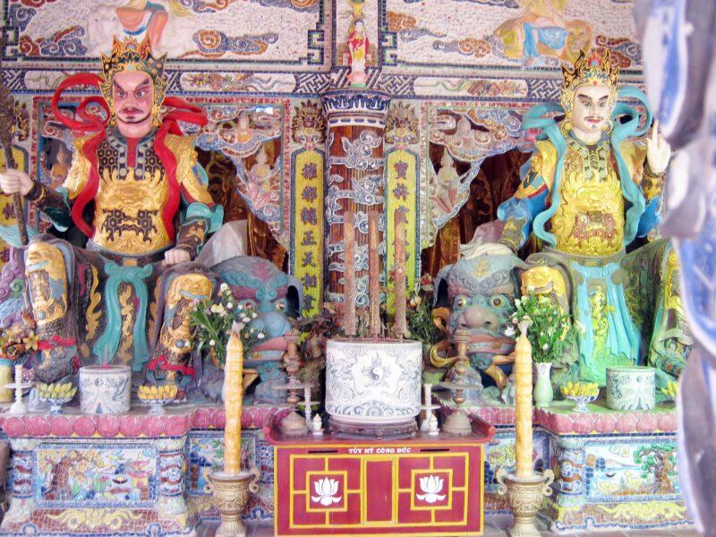 Hình ảnh Hộ Pháp đẹp trong chùa