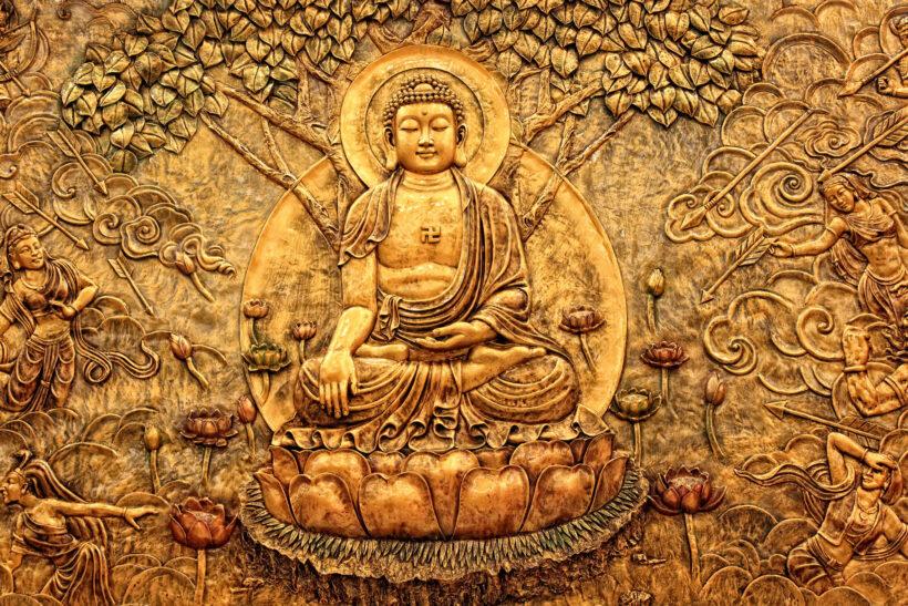 Hình ảnh Phật A Di Đà đẹp, ấn tượng nhất