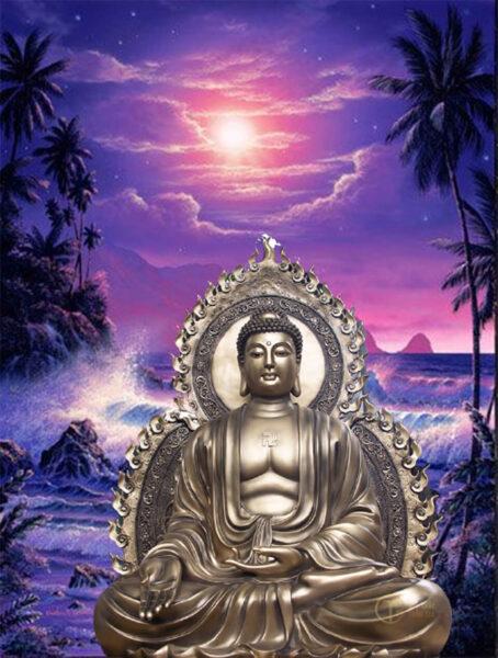 Hình ảnh Phật A Di Đà đẹp nhất thế giới