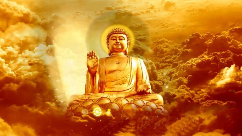 Hình ảnh Phật A Di Đà uy nghiêm