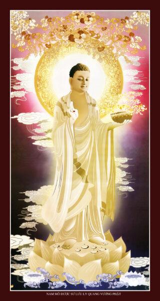 Hình ảnh Phật Dược Sư Lưu Ly Quang Phật