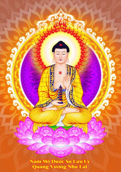Hình ảnh Phật Dược Sư đẹp