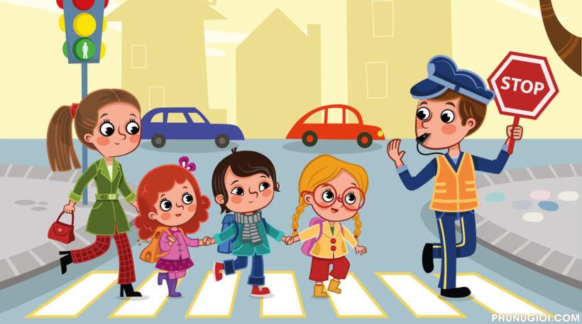 Hình ảnh an toàn giao thông đường bộ