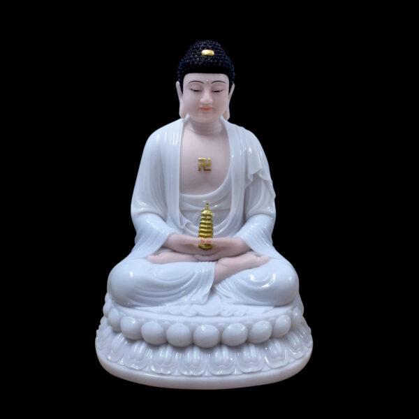 Hình ảnh tượng Phật Dược Sư bằng ngọc