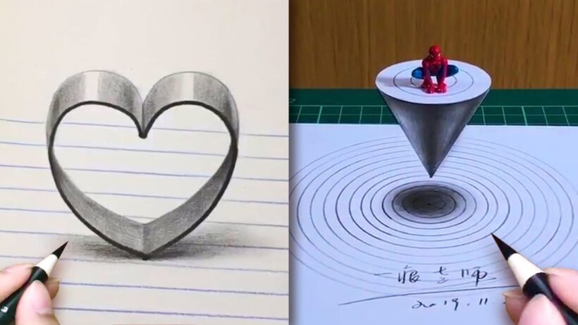 Nghệ thuật Vẽ tranh 3D đỉnh cao