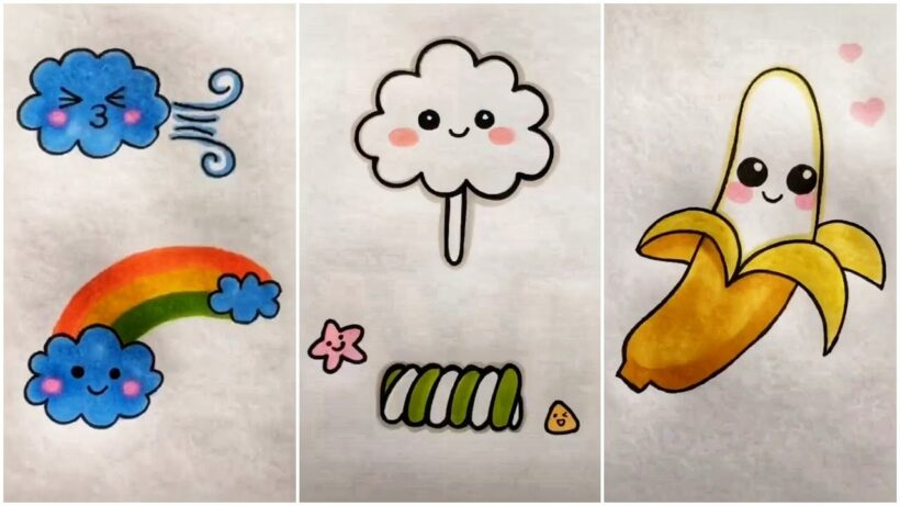 Những tranh vẽ dễ thương, đáng yêu nhất