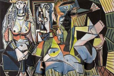 Tranh vẽ Picasso trìu tượng, khó hiểu và độc nhất