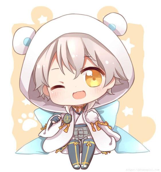 Vẽ tranh dễ thương anime chibi