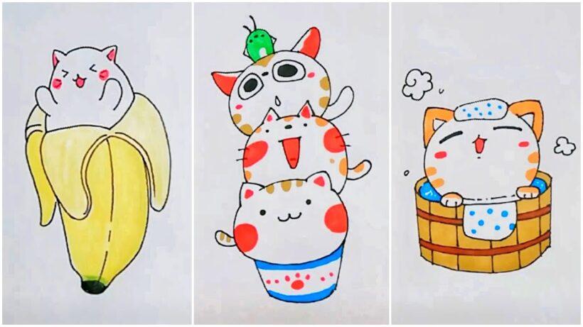 Vẽ tranh dễ thương, hoạt hình