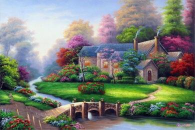 Vẽ tranh đẹp, ấn tượng nhất