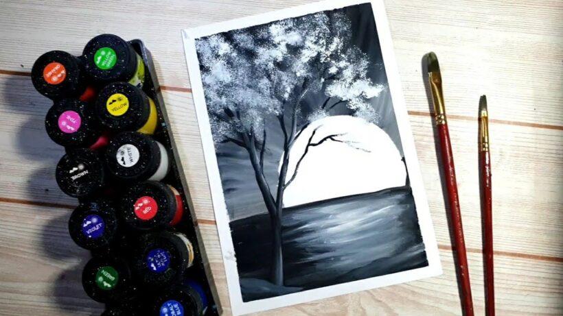Vẽ tranh đẹp bằng màu nước