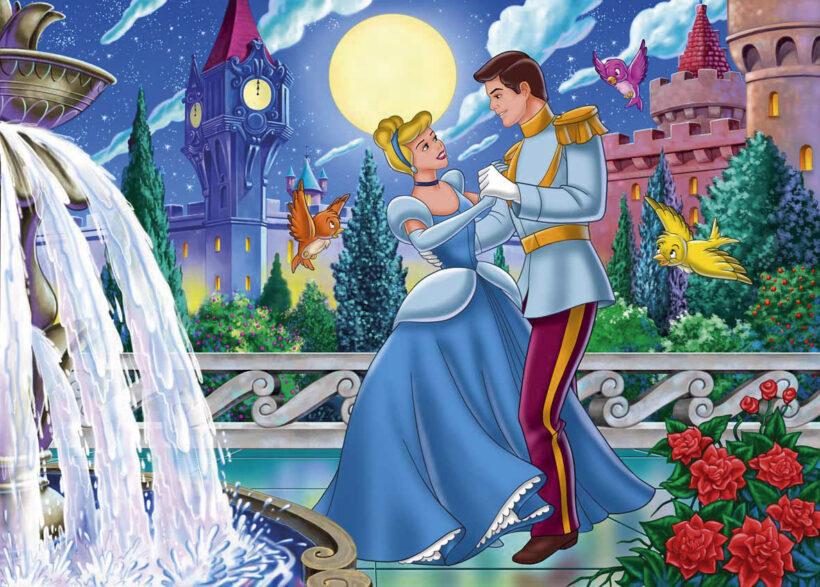 Vẽ tranh đẹp về công chúa và hoàng tử
