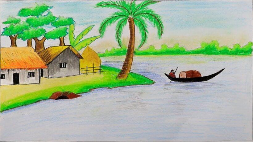 Vẽ tranh phong cảnh đẹp