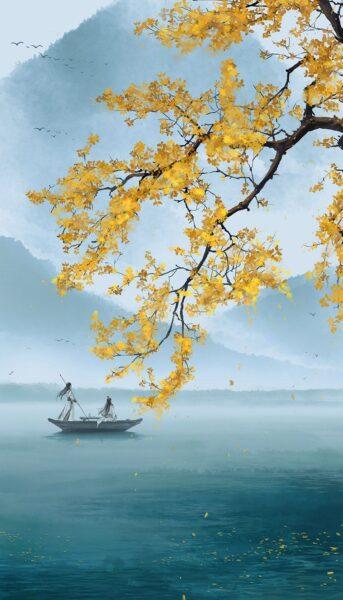 Vẽ tranh thủy mặc tuyệt đẹp